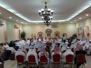 حضور غفير يحضر ندوة ائتلاف شباب الفاتح بمجلس الدوي